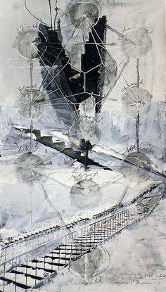 Anslem Kiefer: 2002 Sefiroth: what an amazing piece