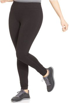 9c73e72dae274 Ideology Plus Size Slimming Leggings Only at Macy s    See this great  product. Plus