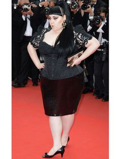 Cannes Day 2: Beth Ditto... I love you Beth Ditto for everything you stand for re: plus size beauty, size acceptance and empowerment- you rock but NOT in this look... this is an #epicfail for me.