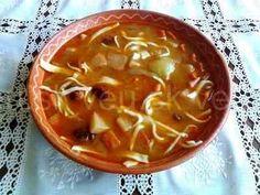 Záhorácka fazuľová polievka s rezancami