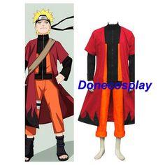 Naruto-Uzumaki Naruto Halloween Cosplay Costume Custom Made