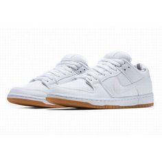 the latest 6cb95 5ee8b Rembourrage Homme Nike Dunk SB Confortable Blanc Marron Promotions  Économiques  PasCherNikeDunkSB