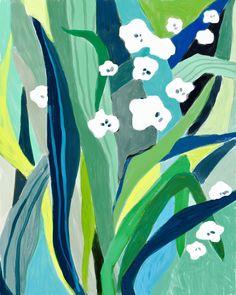 Ophelia Pang: white wild flowers