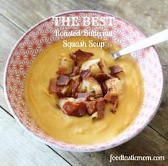 the best roasted butternut squash soup