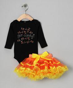 Black 'Got Candy?' Tee & Orange Pettiskirt  http://www.zulily.com/invite/jpalmer893/p/black-got-candy-tee-orange-pettiskirt-infant-toddler-24702-2015546.html?tid=referral_pinterest