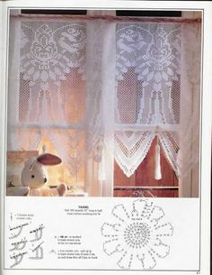 crochet - cortinas - curtains - Raissa Tavares - Picasa Web Album