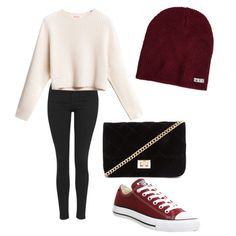 A fashion look from November 2015 featuring Topshop jeans, Converse sneakers and Forever 21 shoulder bags. Browse and shop related looks.