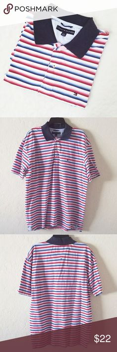 Tommy Hilfiger Men's Stripe Polo Shirt Never worn In excellent condition Tommy Hilfiger Shirts Polos