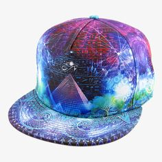 Flow Fitted Hat By Alternative Intelligence and Justin Totemical