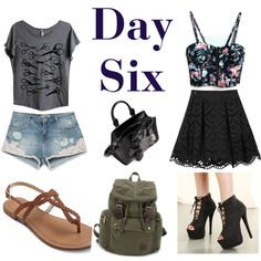 Day Six by sara1096 on Polyvore featuring polyvore fashion style Alice + Olivia Zara Alexander McQueen