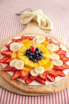 Fresh Fruit Pizza at PaulaDeen.com