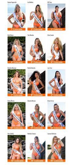 Fotos Finalistas Concurso Miss Bumbum 2016