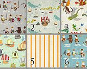 Vikings (Baby Bedding Crib Set) Pirates Dragons Nautical Crib Bedding