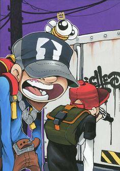 Graffiti Piece, Graffiti Wall Art, Graffiti Painting, Graffiti Drawing, Murals Street Art, Graffiti Lettering, Street Art Graffiti, Graffiti Doodles, Graffiti Cartoons