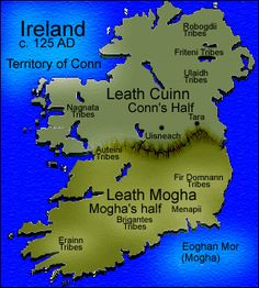 The Conn of Hundred Battles | oilioll married sadhbh a daughter of conn cetcathach conn of