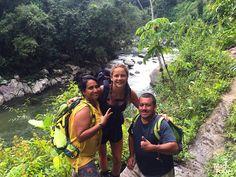 Rio Buritaca en Ciudad Perdida pasando al máximo con nuestros guías #travellers #lostcitytrek #ciudadperdida #travel #adventure #cultures #welovetravel