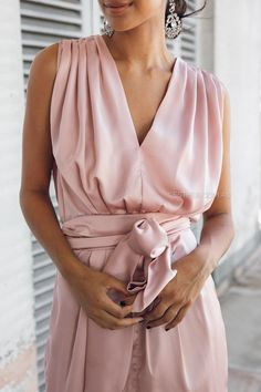 Athens Blush Maxi Dress $74.95