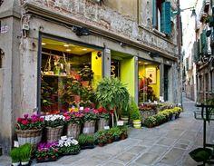 Flowershop, Venice, Italy