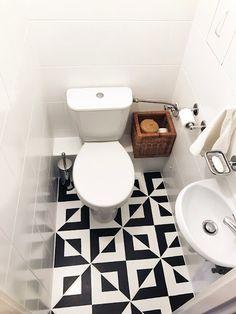 dekoholik: Wielka metamorfoza małej toalety