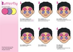 Easy Face Painting Templates Images #FacePaintingBusiness