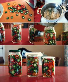 Make your own pickled jalepenos