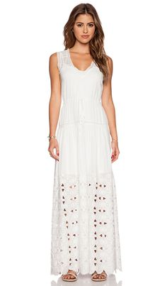 Twelfth Street by Cynthia Vincent Maxi V-neck DressSarah Styles Seattle