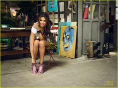 Selena Gomez Takes Selfies For Adidas NEO Summer Collection Campaign! | selena gomez adidas neo summer campaign 09 - Photo