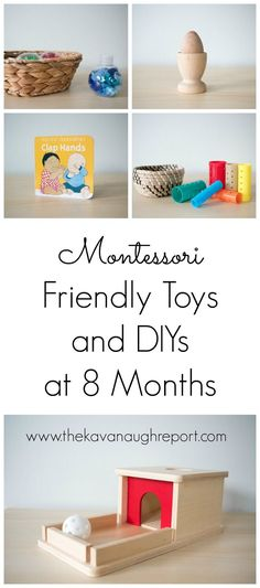 Montessori friendly toys and DIYs for These materials are perfect for Montessori babies at home. : Montessori friendly toys and DIYs for These materials are perfect for Montessori babies at home. Diy Toys For 8 Month Old, Diy Baby Toys 8 Months, 8 Month Baby Toys, 8 Month Old Baby Activities, 7 Month Old Baby, Infant Activities, Diy Montessori Toys, Montessori Bedroom, Montessori Toddler