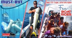 Who is coming down to the always sunny KZN South Coast these School Holidays? If you are looking for ideas on what to-do while visiting, here are some AWESOME activities you can enjoy with us. Shark Cage, School Holiday Activities, Fishing Adventure, Fishing Charters, Deep Sea Fishing, Fishing Life, School Holidays, Day Trips, Diving