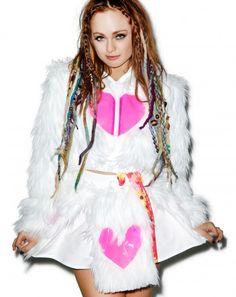#DOLLSKILL #JVALENTINE #Furskirt #Skirt #Hearts #Rave #Electricdolls #Burningman #EDC