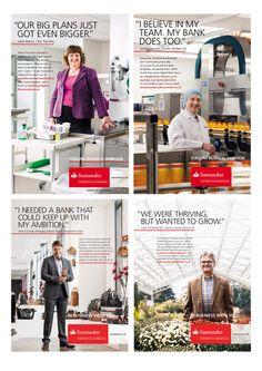 Santander Business Banking on Behance