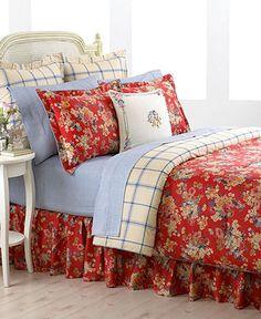 Lauren Ralph Lauren Bedding, Madeline Comforter and Duvet Sets - - Macy's