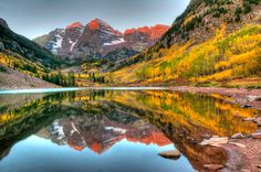 ***Maroon-Bells (Colorado) by Kyle Hammons