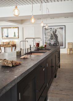 "Bespoke Oak Kitchens - sohofactory Hop Kiln 2  ""Plain English Design Ltd""  The other side of the island"