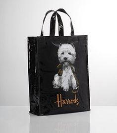 Harrods Classic Westie Dog Shopper