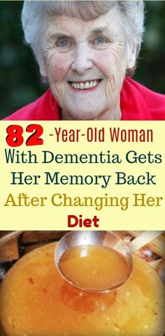 82-Year-Old Woman With Dementia Gets Her Memory Back After Changing Her Diet