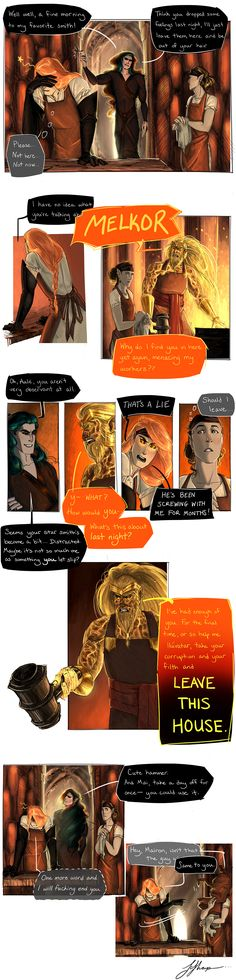 Part 7 - The Seduction of Mairon by frecklesordirt on DeviantArt