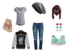 My Favorite Breed by ramadiii on Polyvore featuring polyvore fashion style Pieces Paige Denim Converse Michael Stars Pink Mascara clothing