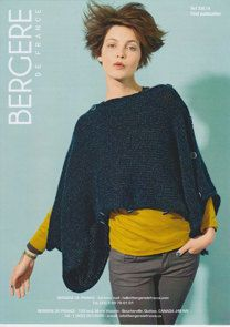 Adaptable Poncho in Bergere de France Cocoon - 33614