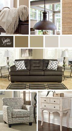 Kira Queen Storage Bed - Ashley Furniture | Cozy Bedrooms | Pinterest