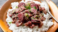 Black-Eyed Peas With Andouille Sausage And Rice Recipe - NYT Cooking