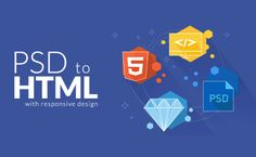 convert psd to responsive html,css3,bootstrap,include js