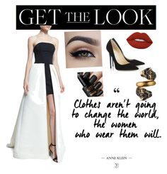 """""""Get the Look: Met Gala 2016"""" by chicbluemarty ❤ liked on Polyvore featuring Gucci, Halston Heritage, Jimmy Choo, Lime Crime, GetTheLook and MetGala"""