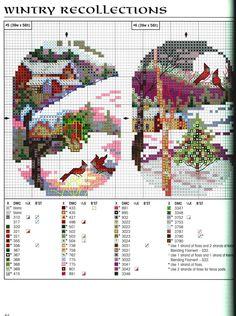 Cross Stitch *<3* Christmas - Winter