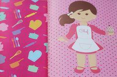 Presentes e Mimos - Chef Rosa - www.tuty.com.br #tuty #presentes #mimos #geek #gift #presente #botton #chaveiro #caderno #moleskine #draw #illustration