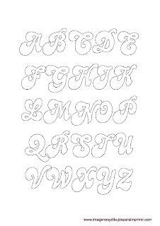 Letras en mayusculas originales