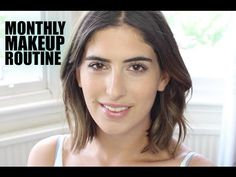 ▶ Peach Shimmer Eyes | Lily Pebbles Monthly Makeup Routine - YouTube