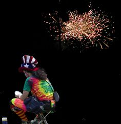 Clown and fireworks assignment