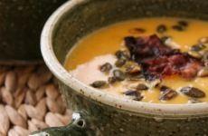 Tonhalkrém - villámgyors receptötlet Cheeseburger Chowder, Oatmeal, Paleo, Soup, Pudding, Breakfast, Desserts, Recipes, Diets