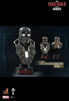 Hot Toys : Iron Man 3 - Collectible Bust Series II 1/6th scale Collectible Bust